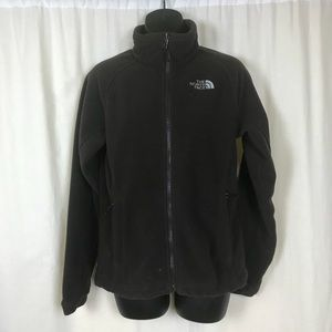The North Face Small Fleece Coat Brown